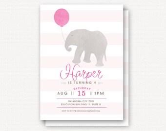Invitation: Elephant Zoo