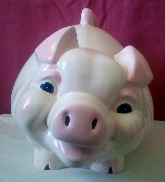 "Piggy Bank-Ex. Ex. Large-13""Tx18""Lx10""W -Ceramic-NEW"