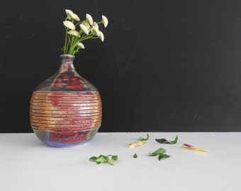 Studio Art Pottery Weed Pot