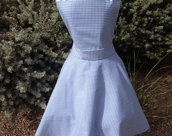 Dorothy costume apron dress