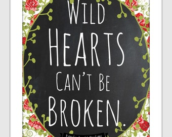 items similar to wild hearts can 39 t be broken coaster black set of 4 on etsy. Black Bedroom Furniture Sets. Home Design Ideas