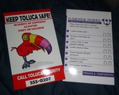 Tookie Toluca Mall  8.5x5.5 recreation poster Silent Hill