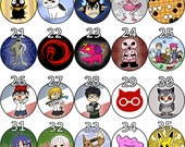 Buttons! Anime, Video Games, and more!