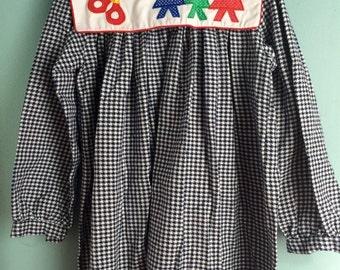 Vintage school dress 6X