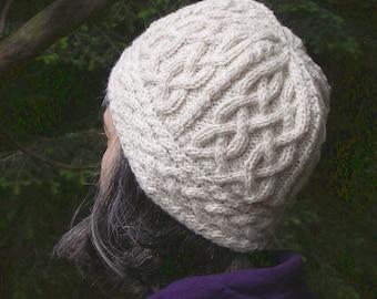 Iona Hat (PDF knitting pattern)