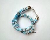 DISCOUNT - Aztec Design Bead Crochet Necklace - Tribal Design Beaded Necklace - Beadwork Necklace -  Bead Crochet Necklace