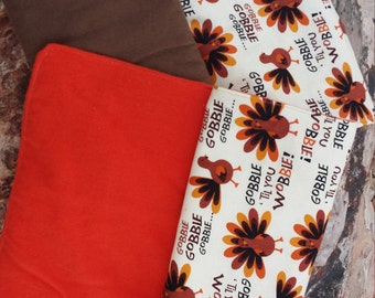 Thanksgiving Burp Cloth