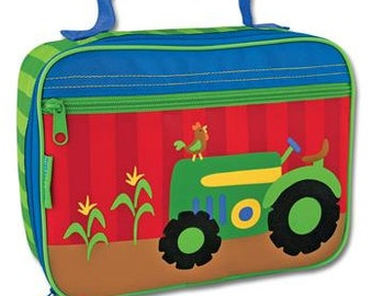 Personalized Stephen Joseph Tractor Classic Lunchbox