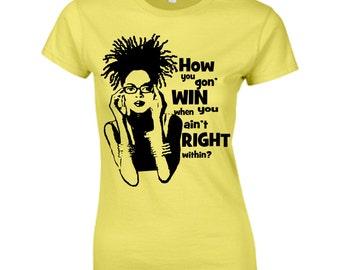Afro T-shirt- Get Right Short Sleeve Tshirt