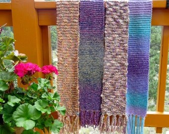 Women's Hand-Knitted Soft Winter Scarves
