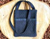 Crossbody Purse, Hipster Bag, Fabric Shoulder Bag, Sling Bag