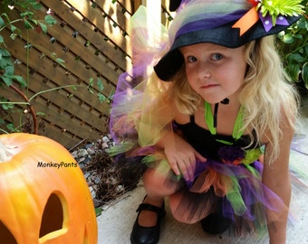 Witch Hat  - Girls Witch Hat - Costume Accessory - Ready to Ship