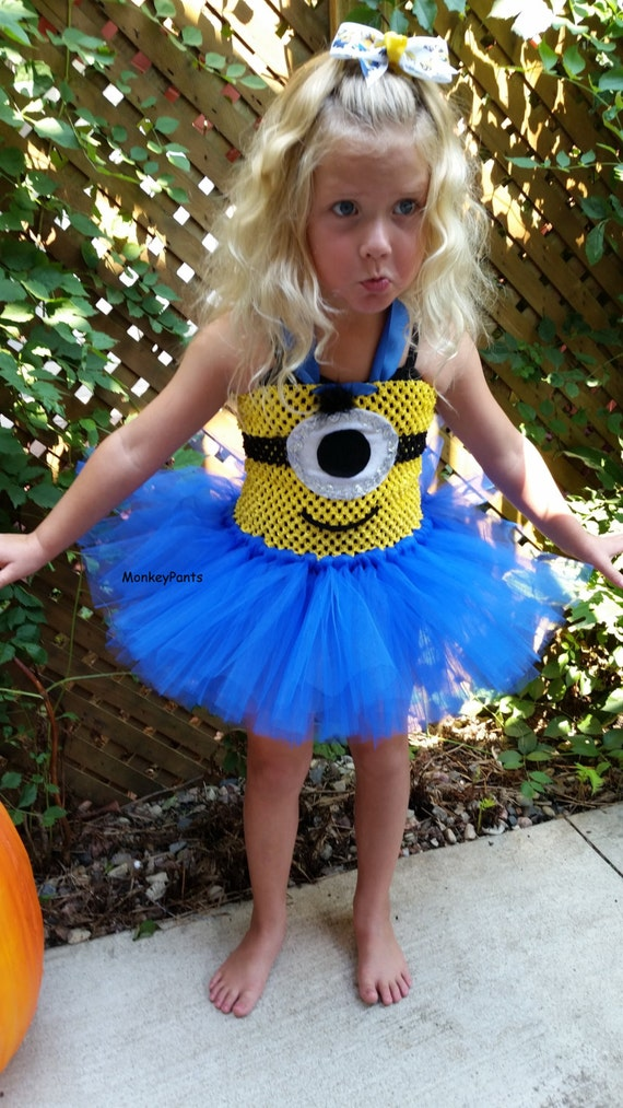 Best Despicable Me Costumes for Kids Minions the Girls and GRU! XH29