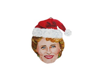 Rue McClanahan Blanche Golden Girls Christmas Ornament