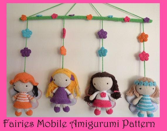 Amigurumi Fairy Patterns Free : Fairies Mobile Amigurumi Pattern