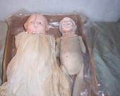 2 Antique Baby Dolls, As It, Extra Antique Clothes