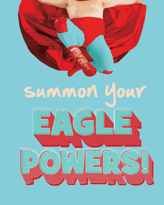 Summon Your Eagle Powers Nacho Libre Instant Download Jpeg