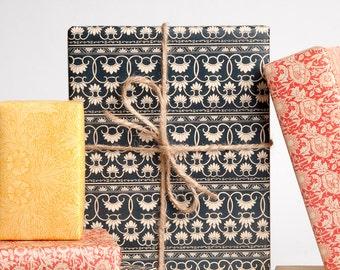 Vintage Wallpaper Gift Wrap / 12 Sheets