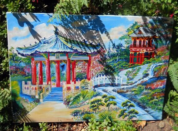 San Francisco Japanese Botanical Gardens Golden Gate Park