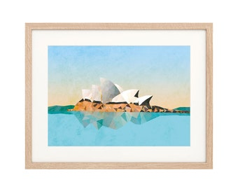 Sydney Opera House - Art Print - Archival inks & paper