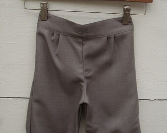 Boys Taupe knicker pants, Size 1-3yrs or 4-6 yrs little boys knicker pants, ring bearer knicker pants