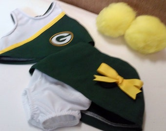 Cheerleader outfit for American Girl