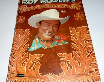 vintage roy rogers favorite western stories