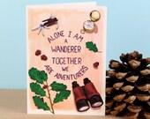 We Are Adventurers Valentine's Cards