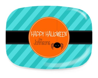 Personalized Halloween Platter