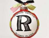 Married Christmas Ornament