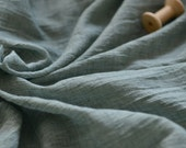 Green or Grey Color Cotton Gauze Fabric MJ193
