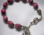 Jacob's/Job's Tears Bracelet Rosary