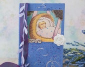 BABY SONG Newborn OOAK Baby Newborn Pregnancy Hand Painted Journal/Diary/Sketchbook