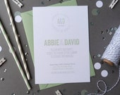 Wedding Invitation Suite - Athena Wedding Range