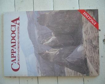 Cappadocia book in English/Ürgüp göreme Nevşehir book/touristik book of Turkey /cappadocia guide