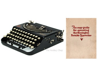 The Remington Portable Typewriter Instruction Manual Instant Download