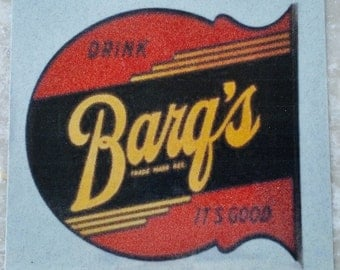Barq's Root Beer New Orleans Coaster