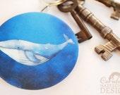 Whale Key Ring Bottle Opener