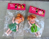NEW in PACKAGING Set of 2 Poseable DOLLS