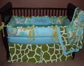 Custom Designer Super Sale on choice of these in stock crib baby bedding sets. Genuine modpeapod all brand new