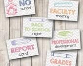 Teacher Planner Set 2, Set of 144