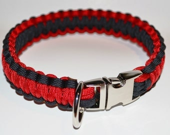 Deluxe Paracord Dog K-9 Collar - All Sizes