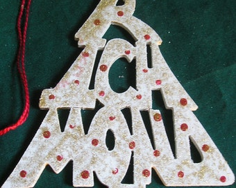 Richmond, handcrafted tree shaped ornament
