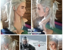 Geralt of Rivia Lace Front Wig from Witcher 3