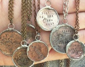 Coin jewelry customizable
