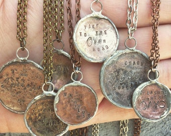 Coin jewelry customizable