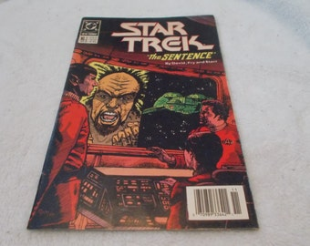 Vintage Comic Book-STAR TREK No 2-Nov-1989