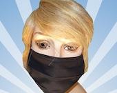 Black mask, Black face mask, black surgical mask, black mask, face mask, Men and Women, Dust, Dirt protection, Workplace