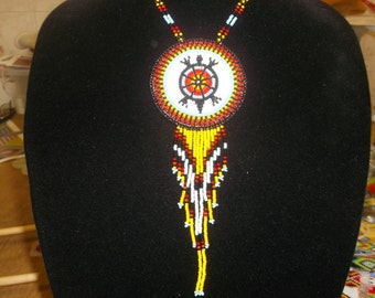 turtle necklace , native american