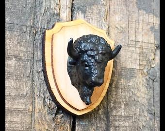 Bison Taxidermy Magnet